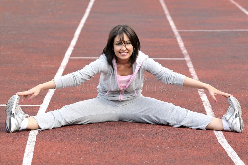 sport piękne robią kobiety zdjęcie stock