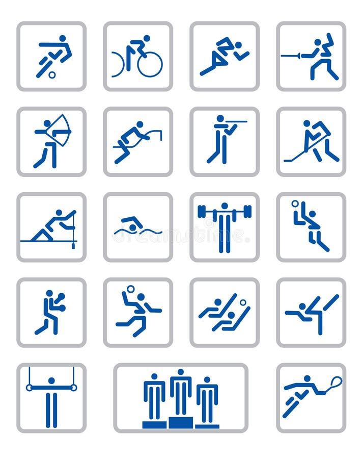 Sport Pictographs Stock Photos