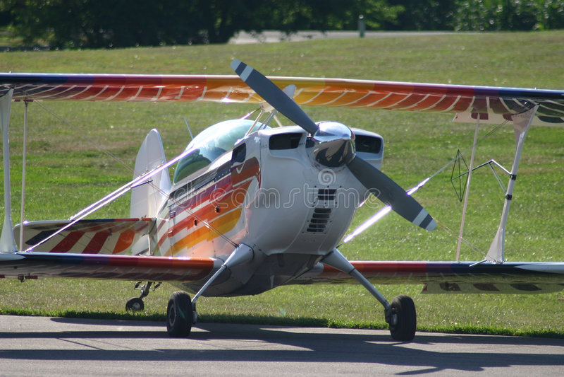 Sport Plane stock photography