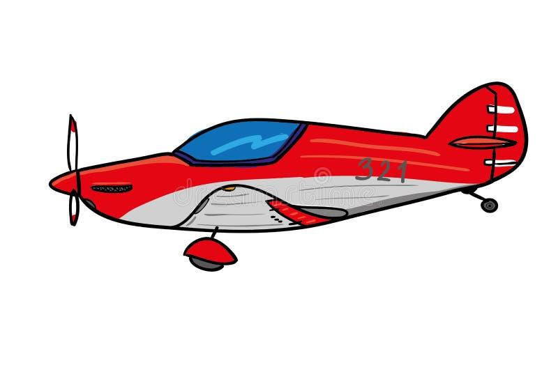 Sport Plane. illustration stock images