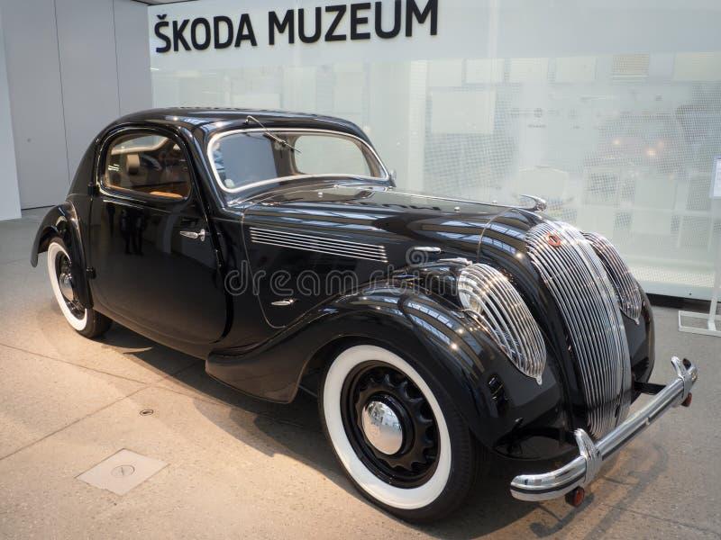 Sport popolare di Skoda - Monte Carlo - automobile del veterano fotografia stock