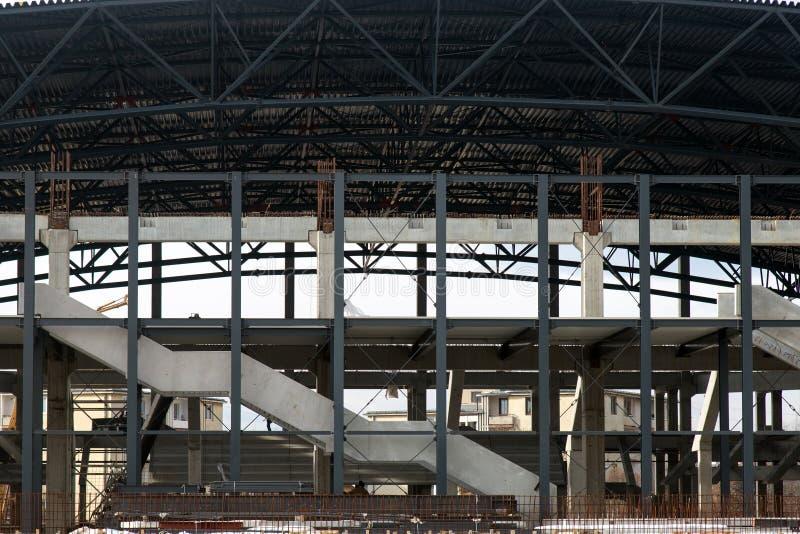 Sport sala w budowie zdjęcia royalty free