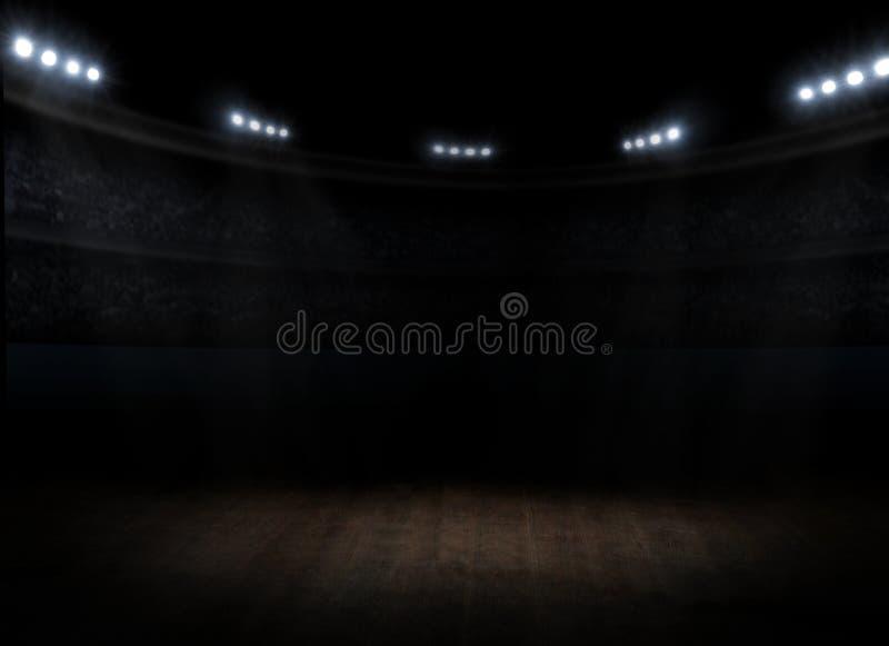 Sport sala wnętrze zdjęcie royalty free