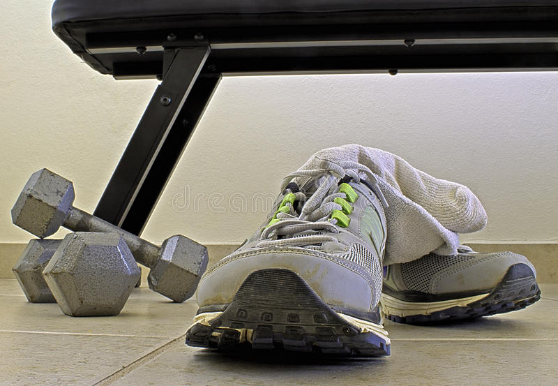 Sport-Schuhe lizenzfreies stockbild