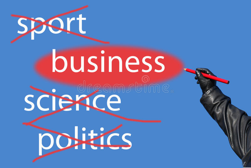 Download Sport?Science?Politics?Business! Stock Photo - Image: 12645642
