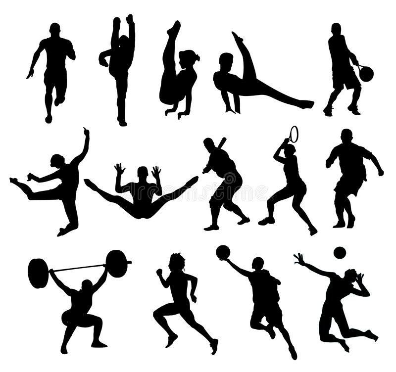 Download Sport shapes vector stock vector. Image of composition - 4923361