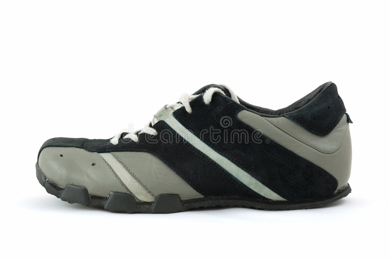 Download Sport shoe stock image. Image of foot, laces, style, white - 4619455