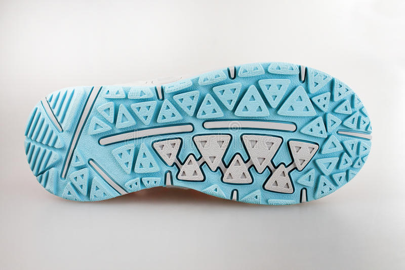 Sport shoe sole royalty free stock photos