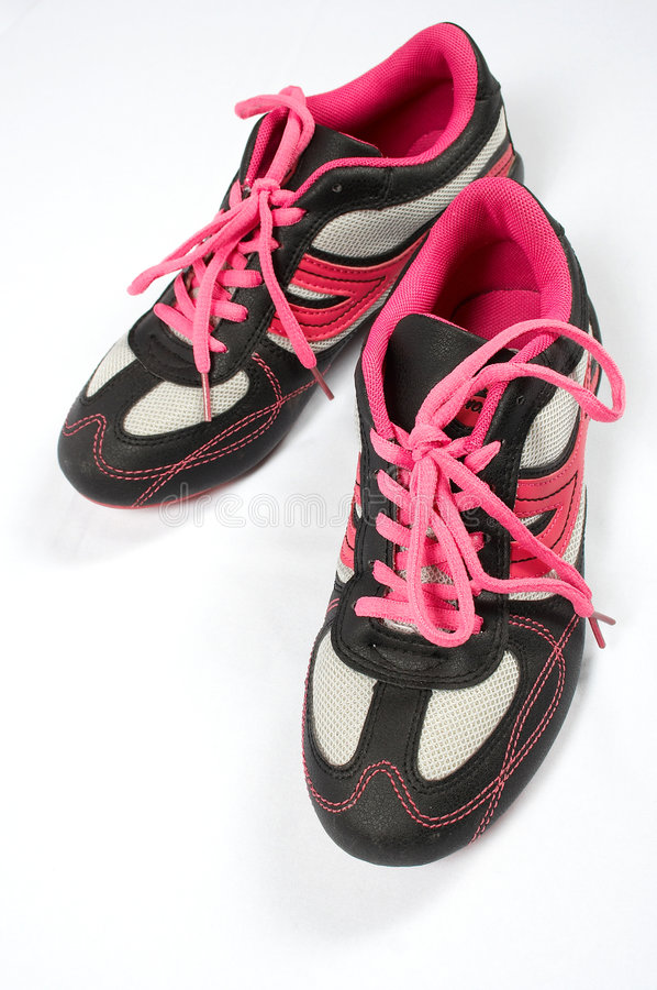 Download Sport shoes 04 stock image. Image of footwear, pink, shoes - 727995