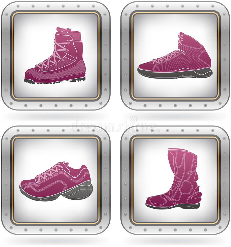 Free Sport Shoes Royalty Free Stock Photo - 21437765