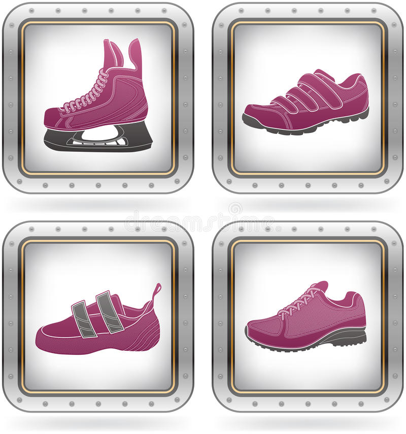 Free Sport Shoes Stock Image - 21437781
