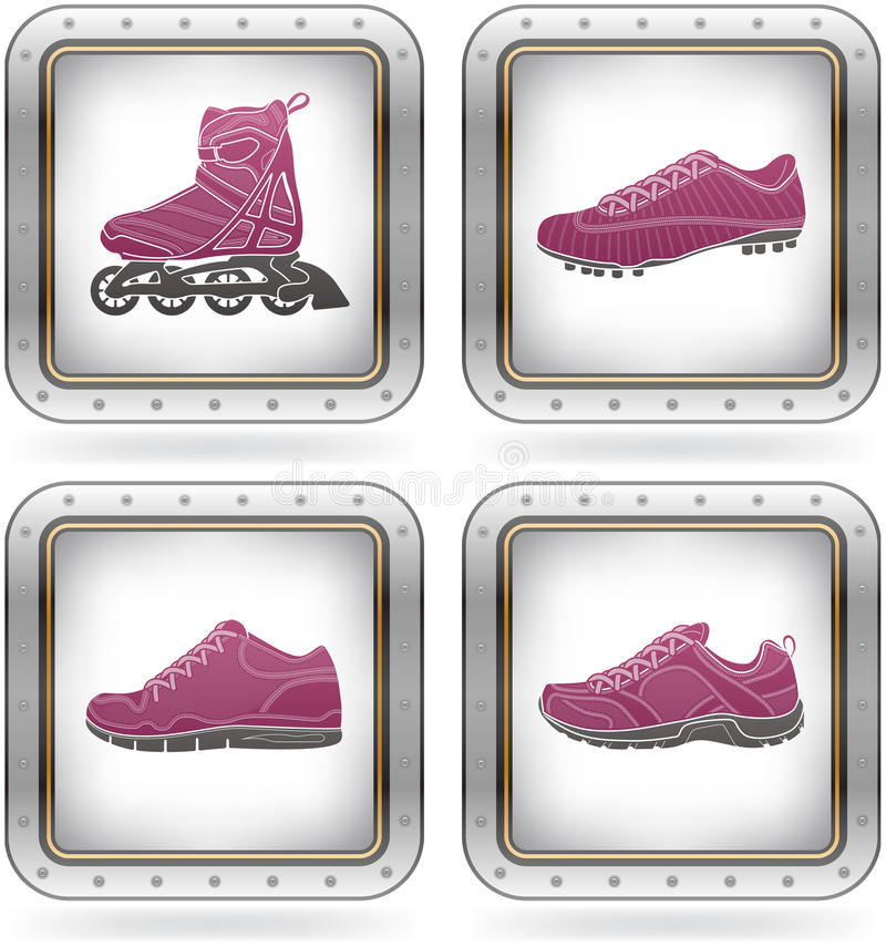 Free Sport Shoes Royalty Free Stock Photo - 21437805