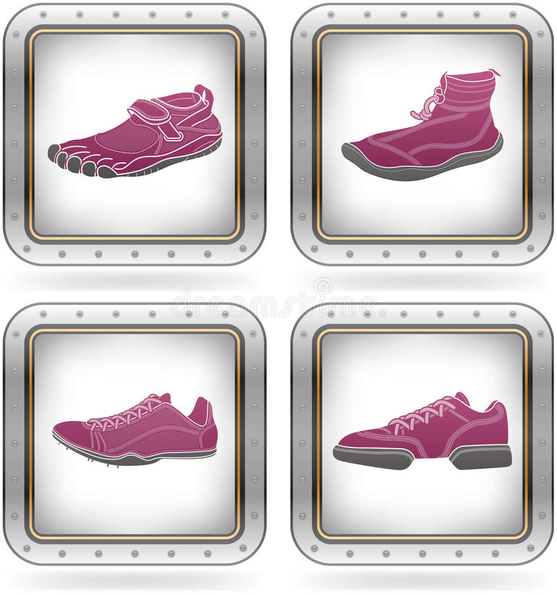 Free Sport Shoes Stock Image - 21437861