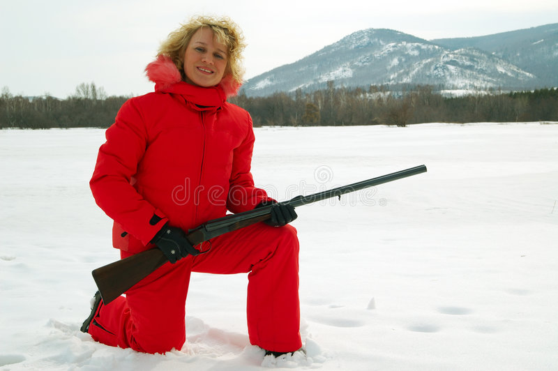Sport shooting royalty free stock photo