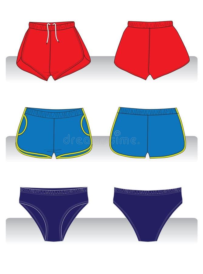 Sport shorts stock image