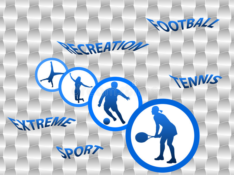 Download Sport Silhouettes Royalty Free Stock Photography - Image: 8647227