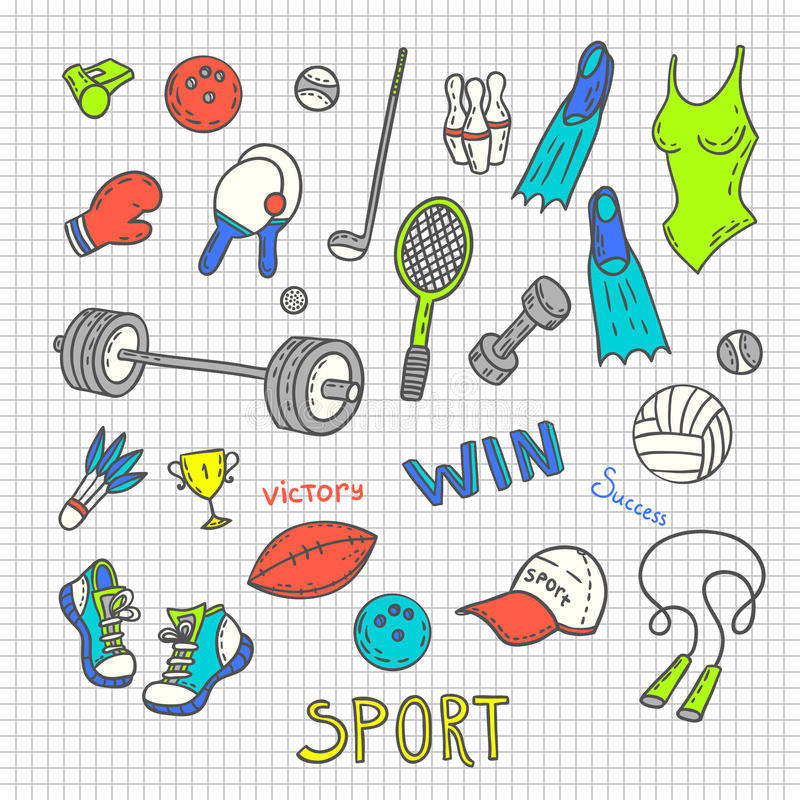 Download Sport Sketches Stock Vector - Image: 59462565
