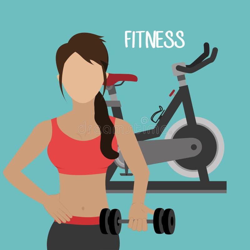 sport sprawności fizycznej projekt ilustracji