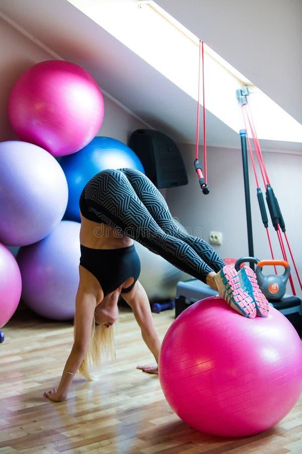 Sport, sprawno?? fizyczna, joga obrazy stock