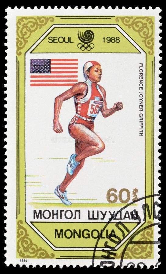 Sport sui francobolli fotografia stock