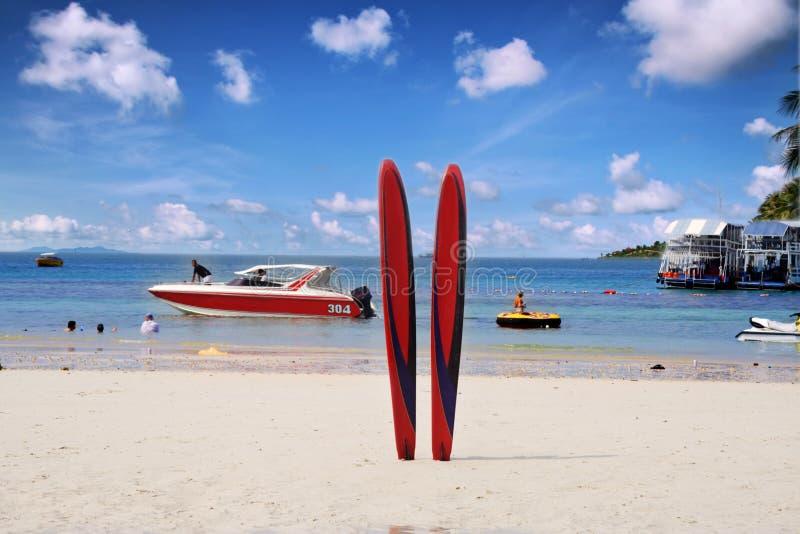 Sport sulla spiaggia immagini stock libere da diritti