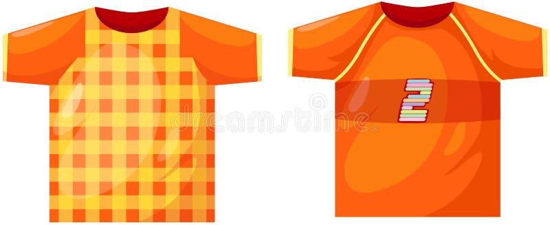 Sport t-shirt royalty free illustration