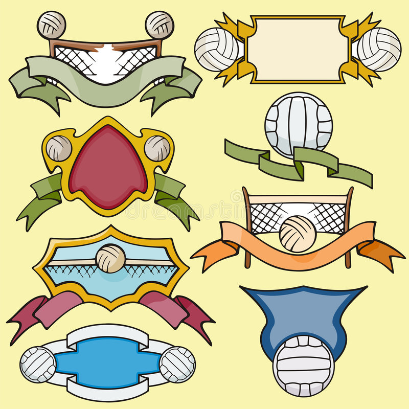 Download Sport template series stock illustration. Image of insignia - 2746444