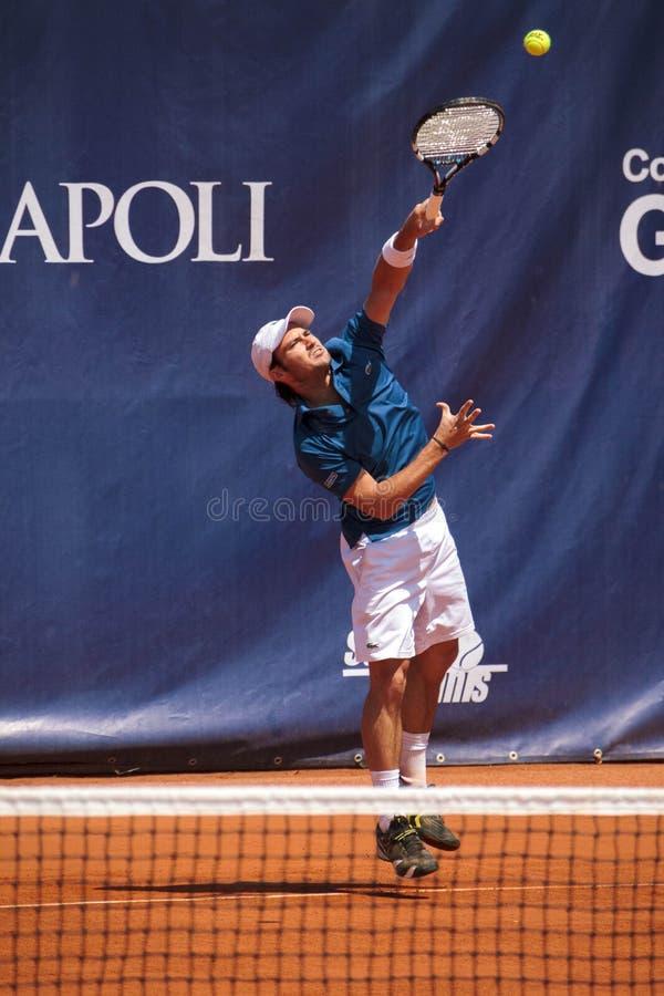 SPORT - Tennis, Tennisspieler lizenzfreies stockbild