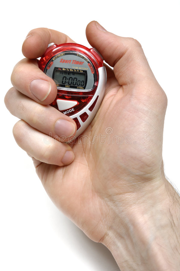 Sport Timer stock photo