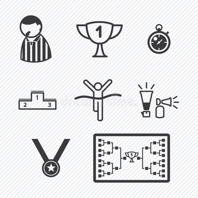 Sport Tournament icons vector illustration vector illustration