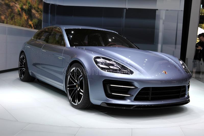 Sport Turismo Porsche-Panamera lizenzfreie stockfotografie