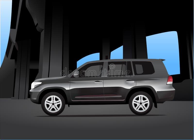 Sport Utility Vehicle Royalty Free Stock Photos