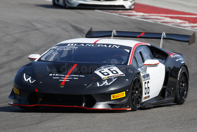 Sport-Verein Blancpain GT stockfotos