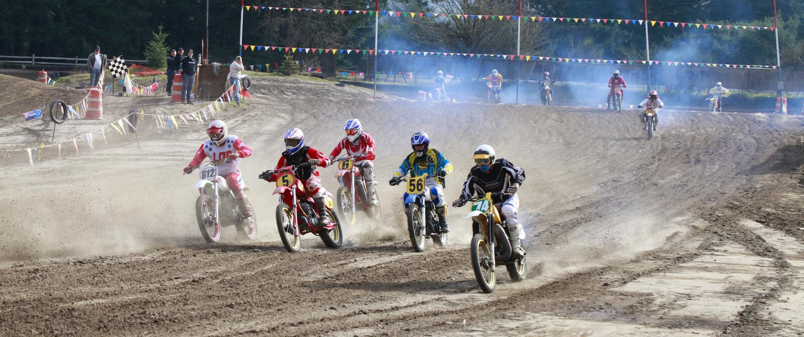 Download Sport Vintage Motocycle Race. Editorial Photography - Image: 29300177