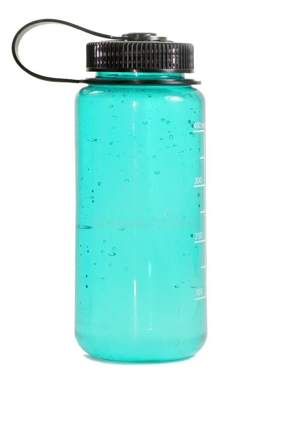 Sport-Wasser-Flasche lizenzfreies stockfoto