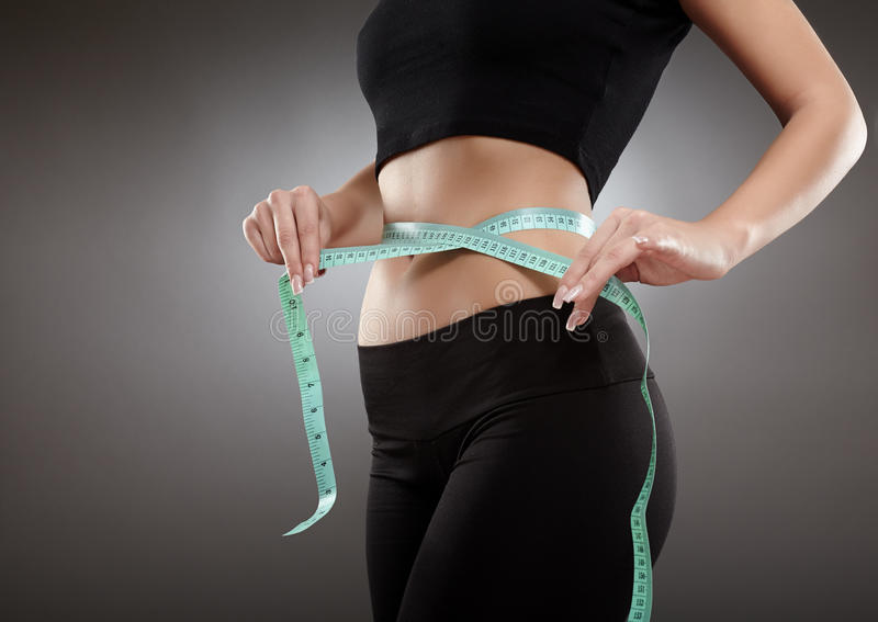 Sport And Weight Loss Concept Stock Photo