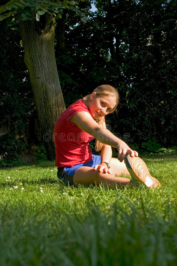 Sport and woman stock photography