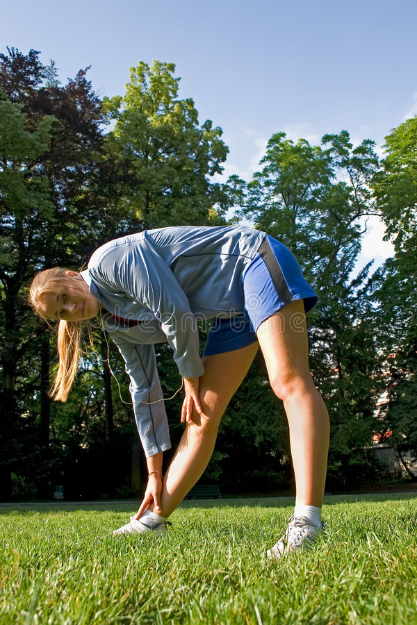 Download Sport And Woman Stock Image - Image: 2565971