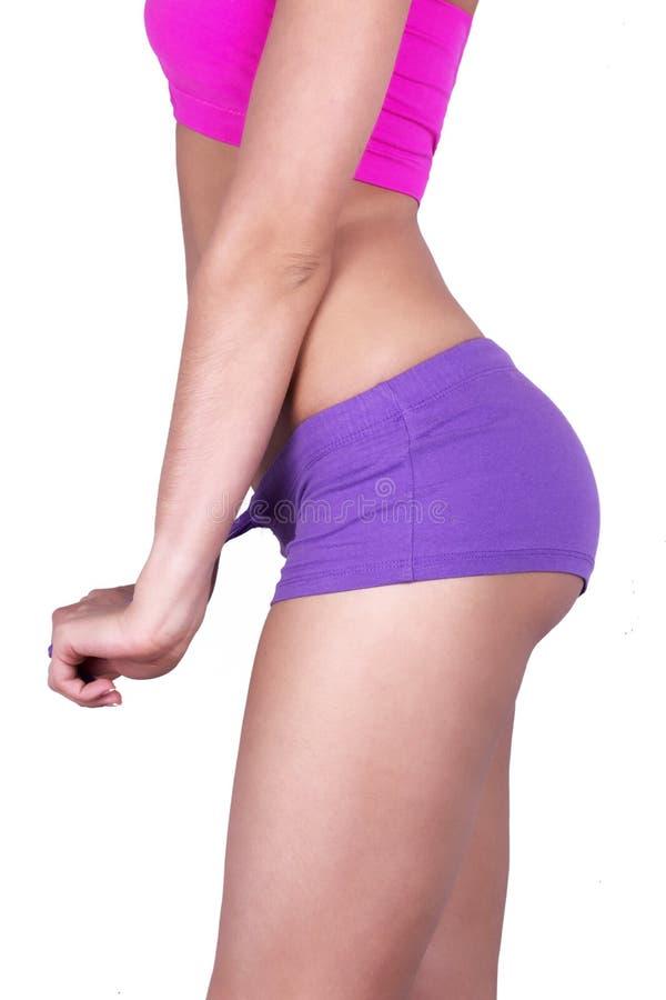 Sport woman body stock photography