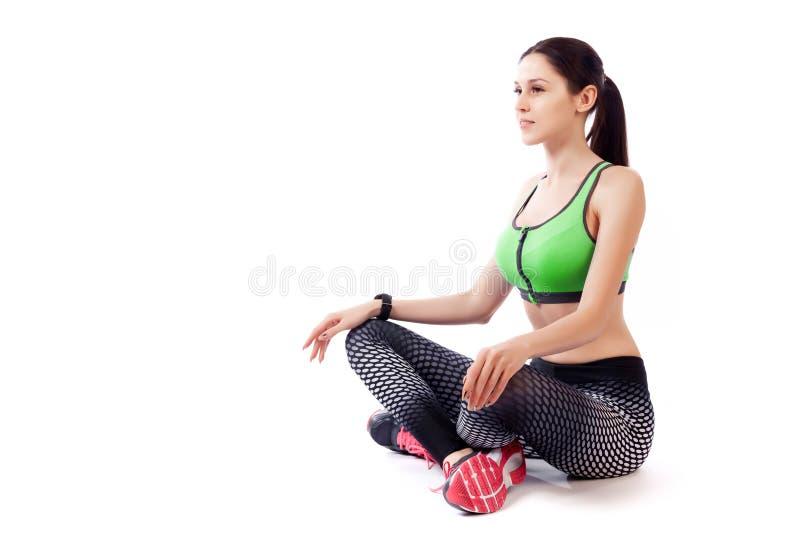 A sport woman model stock photo