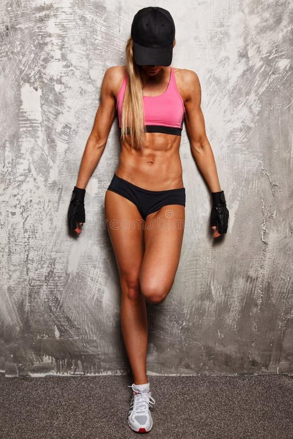 Sport woman stock photo