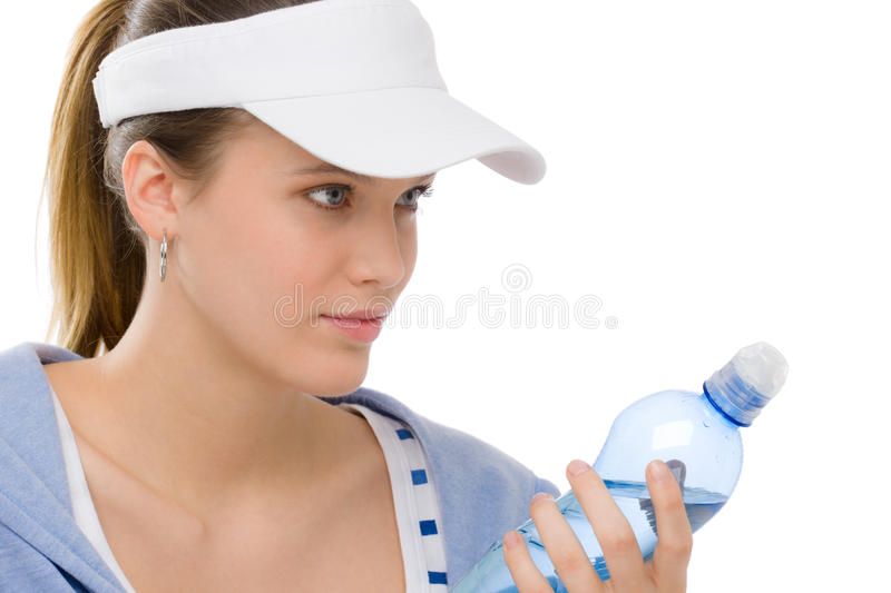 Download Sport - Young Woman Fitness Outfit Water Bottle Stock Image - Image: 18814057