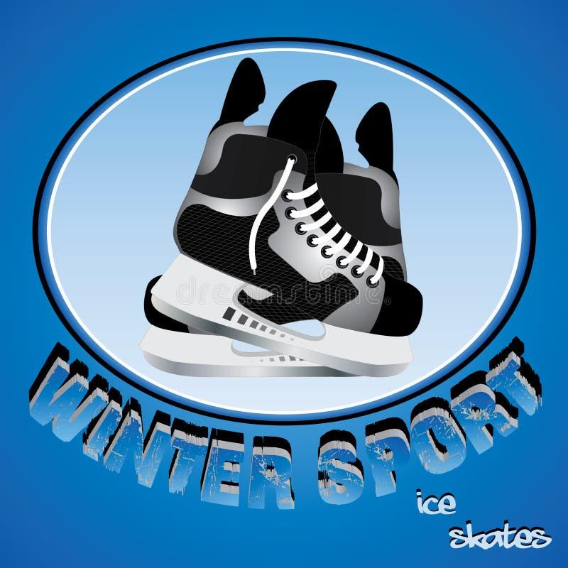 sport zima ilustracji