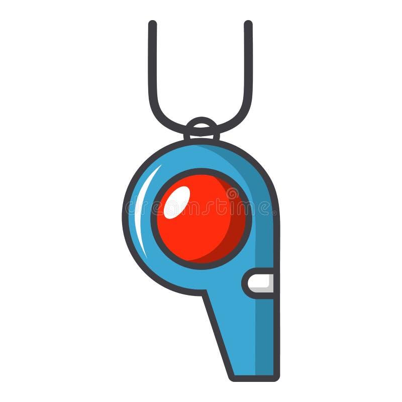 Sporta gwizd ikona, kreskówka styl ilustracji