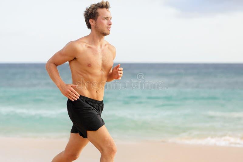Sporta mężczyzna bieg zdjęcia royalty free