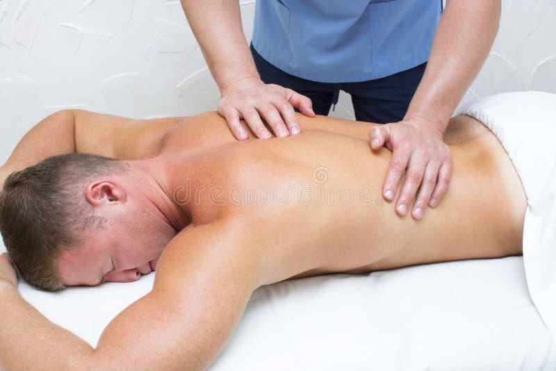 Sporta masaż fotografia royalty free