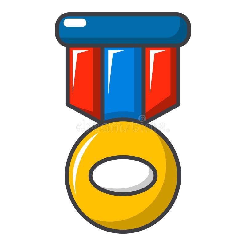 Sporta medalu ikona, kreskówka styl ilustracji