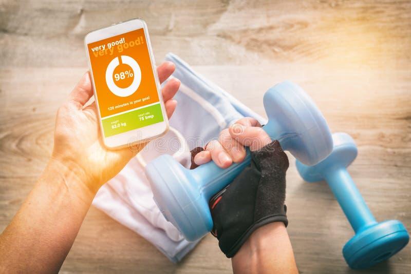 Sporta mobilny podaniowy pojęcie zdjęcia royalty free