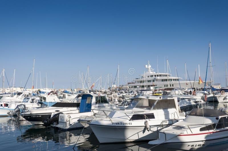 Sporta port Santa Pole zdjęcia royalty free