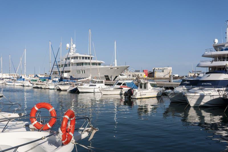 Sporta port Santa Pole obraz stock